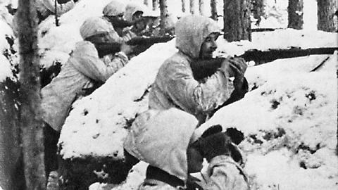 Finns during The Winter War.