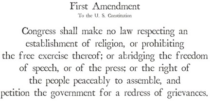 New & Improved First Amendment Part 2
