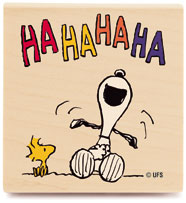 My laugh doesn't sound like Snoopy's.