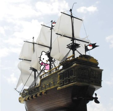 I prefer Hello Kitty Pirates myself.