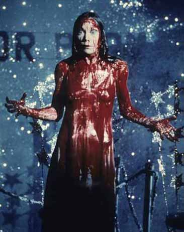 Somebody call the amberlamps! Carrie, 1976.