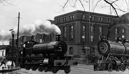 NY Central Railroad Station 1914.