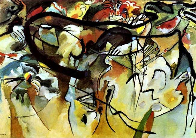 Wassily Kandinsky, Composition V, 1911.