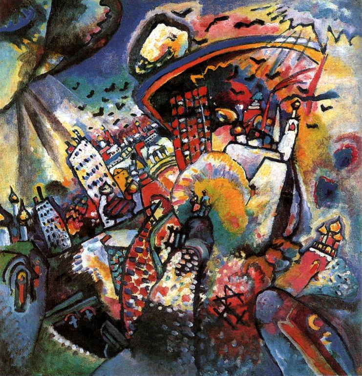 Wassily Kandinsky, Moscow I, 1916.