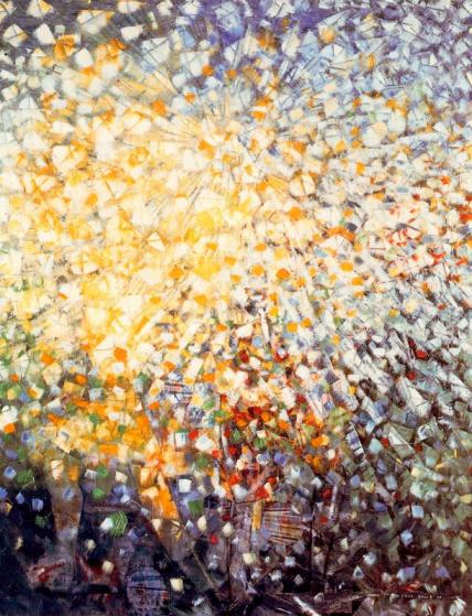 Max Ernst, 33 Girls Chasing Butterflies, 1958.