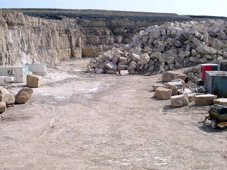 Portland Quarry. Image from Wiki.