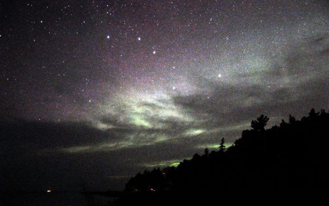 Michigan night sky.