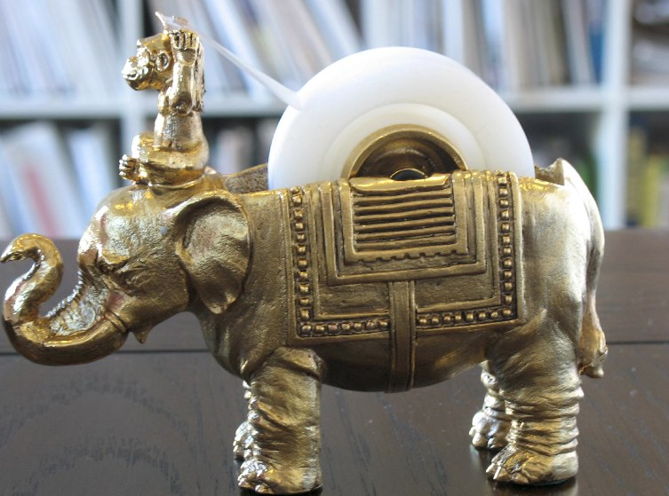 Brass_Elephant_Monkey_Tape_Dispenser