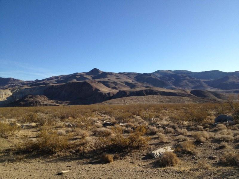 Mojave Desert, Southern California.