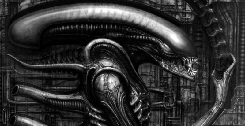 Alien by H. R. Giger.