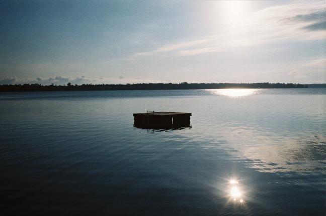 Northern Michigan lake.
