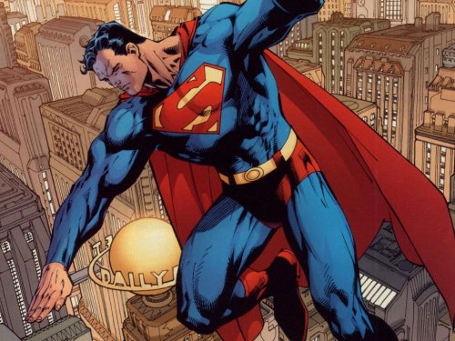 Sup, Supes? Did you rescue all those people from that burning building? Oh good. Now, go rescue a kitten or something.