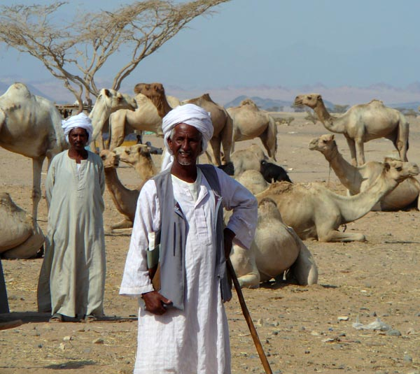 Beja nomads from Northeast Africa.