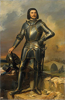 How you could do anything in this armor is beyond me. Gilles de Montmorency-Laval, c. 1835, wikipedia.