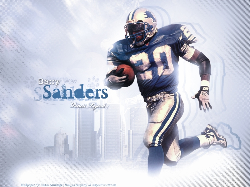 Barry Sanders, one of the best running backs EVER, and the Lions still couldn't win shit.
