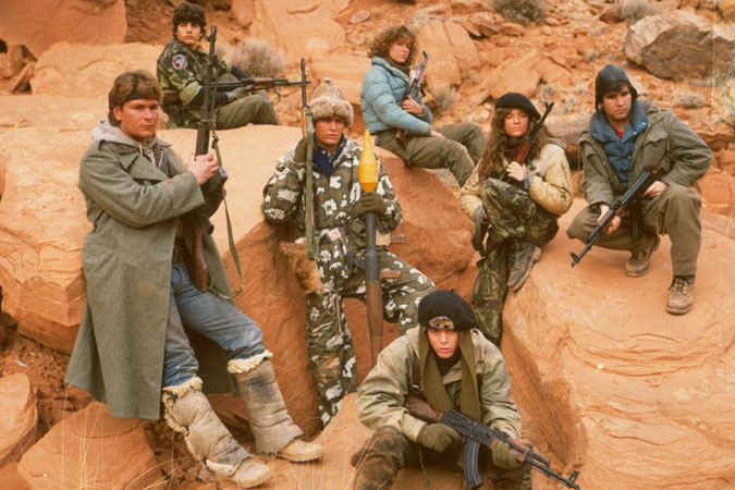 Red Dawn, 1984.