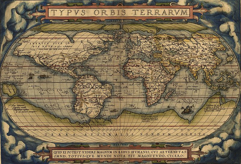 1500s world map