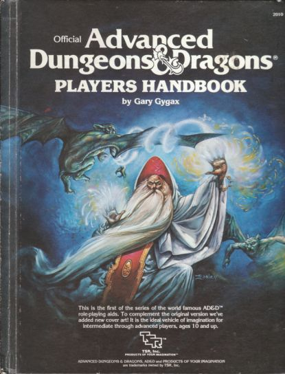 HELLS YES! AD&D Players Handbook, c. 1980s, TRS Games