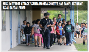Santa Monica shooting 2013 (image credit unknown)