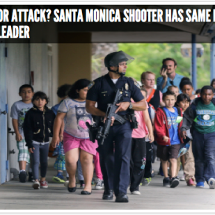Santa Monica shooting 2013 (image credit unknown)