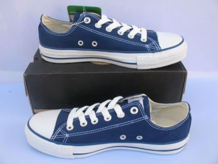 Why hast thou forsaken me, blue Converse? www.conversehigh.com