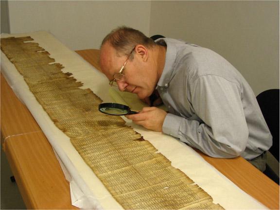 Dr. Philip Van De Naaktgeboren, poet laureate and head of the Archeology Dept. at NMU.