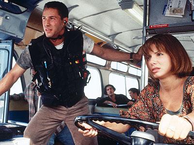 DO NOT TOUCH THE GAS PEDAL. Speed, Twentieth Century Fox, 1994.