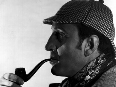 Basil Rathbone. Image from denofgeek.com