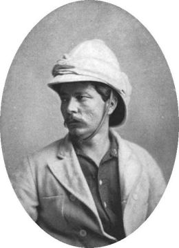 Mr. Henry Morton Stanley, 1872/ Image from wiki.