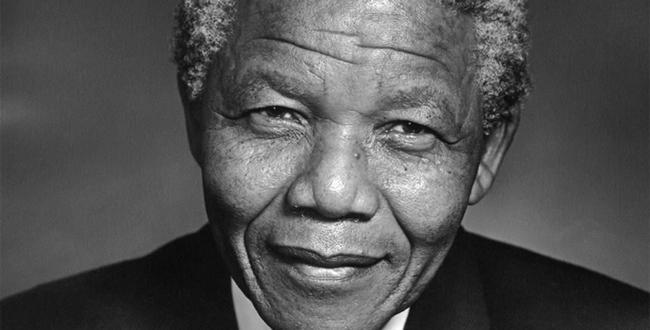 Nelson Mandela. Image from guardianlv.com