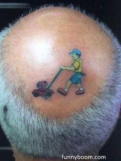 Tattoo-on-head-funny-wallpaper