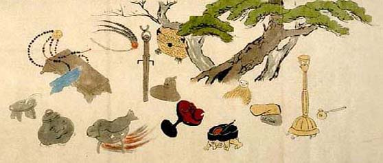 Tsukumogami plotting revenge. Image from Kyoto University Library