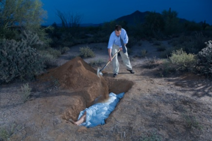 Burying A Body In The Desert For Dummies