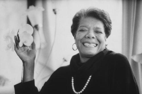 Maya Angelou. (Photo by Stephen Matteson Jr/New York Times Co./Getty Images)