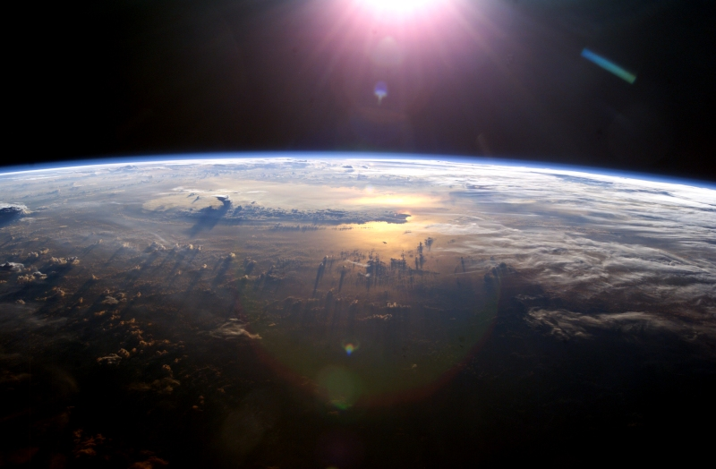 View of Earth from ISS. (apod.nasa.gov)