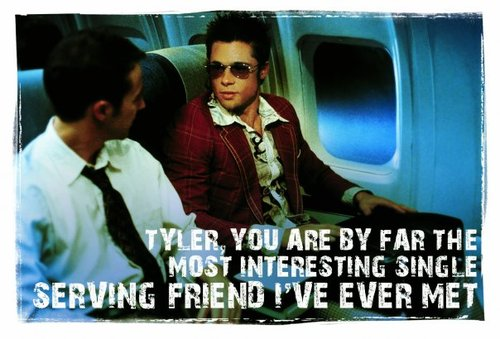 If you don't know what a single-serving friend is, you really need to watch Fight Club.