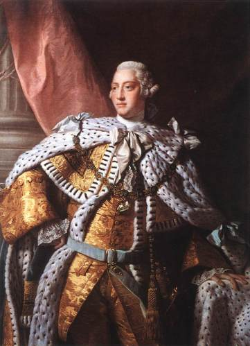 King George III   (savagesandscoundrels.org)