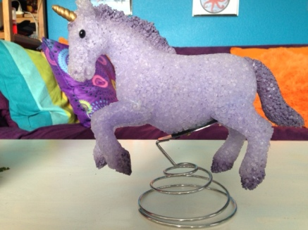 Puple unicorn courtesy of Alex P