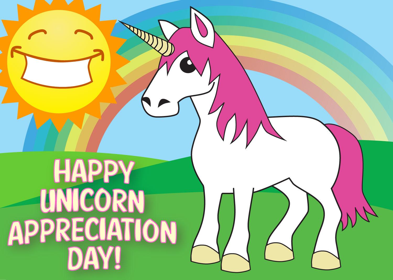 Happy Unicorn Appreciation Day! – Fish Of Gold