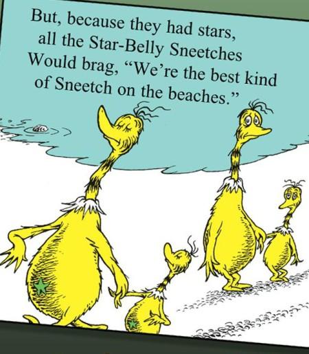 Sneetches, Dr. Seuss.