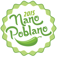 Proud member of team Nano Poblano for NaBloPoMo